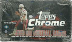 1999 Topps Chrome Football Sealed Box of 24 Packs ROOKIE REFRACTORS