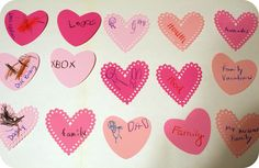 Valentine Garland and Fun Family Night - Somewhat Simple