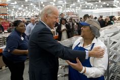 """""""Joe Biden Goes To Costco""""  Nothing better than a little retail thearpy at COSTCO !!!!"""