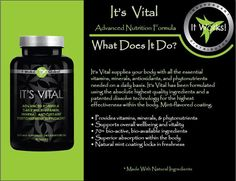 Are you on a good multi-vitamin, one that actually dissolves and gives your body all the essential nutrients needed?? Test your vitamin by putting it in 1/4 cup vinegar mixed with 1/4 cup water and if it doesnt dissolve in 20 minutes it passes through you without giving your body the nutrients listed! https://kristalherring.myitworks.com/ #ItWorks