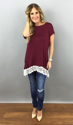 Must Have Lace Tunic {Jane Deals}