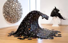 Medium: records 20 Unusually Awesome Art Mediums - My Modern Metropolis