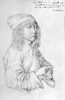 Albrecht Durer, Self-Portrait at 13, 1484 Silverpoint on paper, 275 x 196 mm Graphische Sammlung Albertina, Vienna