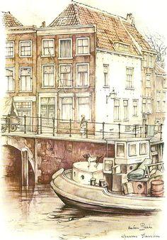 Tot en met 31 januari 2013 exposeert Fred Rosenhart uit Heemstede een selectie van zijn schilderijen in de Burgerzaal van het Raadhuis Heemstede. Daarbij ook een portret van Anton Pieck ANTON PIECK…