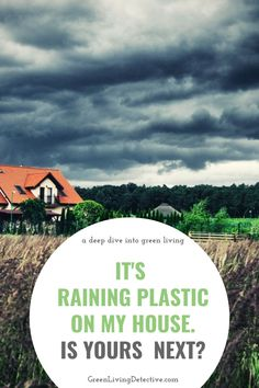 A new study found plastic particles in the rain in a remote part of the U.S.   The most alarming question this study raises is how much plastic waste permeates the air, water and soil of Earth, regardless of proximity to urban areas? Scientists say plastic is virtually everywhere on Earth, and often more than we can see. Follow the link to find out more. >>>> #science #studies #rain #plasticpollution #plastic #plasticfree #toxicfree #chemicals #nature #greenliving #sustainablehome Plastic Pollution, Plastic Waste, Green Life, Scientists, My House, How To Find Out, Remote, Environment, Rain
