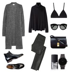 """Laid-Back"" by fashionlandscape ❤ liked on Polyvore featuring Acne Studios, Proenza Schouler, Helmut Lang, Hope, CÉLINE, NARS Cosmetics and Larsson & Jennings"