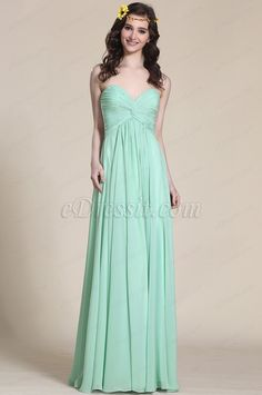 Light Green Sweetheart Bridesmaid Dress Formal Gown (07153804) #edressit #bridesmaid_dress #evening_dress #fashion #wedding