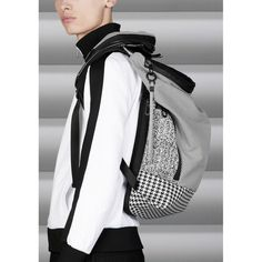 Make some (white) noise for our limited edition collection! Classic black-and-white houndstooth combined with a durable sportswear knit | TIMSAH WHITE NOISE