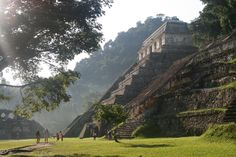 The ruins of Palenque are just as impressive as those of Chichen Itza, if not even more, yet many travelers neglect to visit them. The ruins are set in the midst of the jungle and are surrounded by stunning waterfalls and caves that are waiting to be explored. Base yourself in one of the hideouts along the road between the Palenque town and the ruins, and get a early start at the ruins to beat the crowds