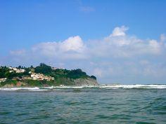 Lastres desde el mar (Asturias) #vacaciones #descanso #caminodesantiago #colunga #asturias #peregrinos