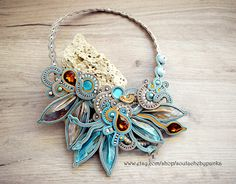Hey, I found this really awesome Etsy listing at https://www.etsy.com/listing/557765309/turqoise-and-light-cream-soutache