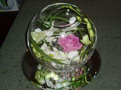 Contemporary Bowl flower arrangement