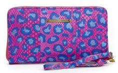 Purse big plain pink Fabienne Chapot
