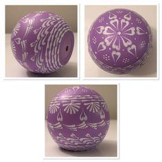 Purple Decorative Balls Lavender Wooden Decorative Ball  Shops Lavender And Etsy