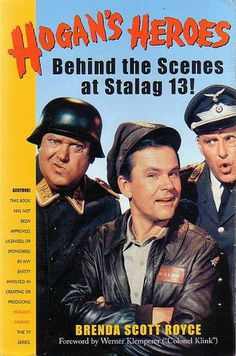 """Hogan's Heroes:  Shultz  """"I know nothing!""""  I remember this show from my childhood"""