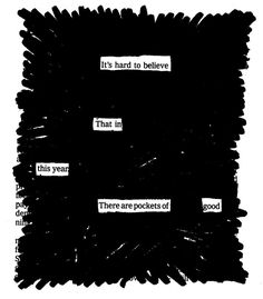 """Pockets of Great Good - Austin Kleon on """"100 things that made my year"""""""
