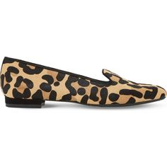 Dune Gracious leopard-print loafers (£60) ❤ liked on Polyvore featuring shoes, loafers, dune shoes, distressed shoes, loafer shoes, dune footwear and leopard print shoes