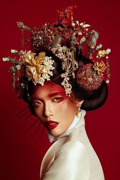 Oriental Beauty by Ryan Tandya-7 Days in Tibet by Nicoline Patricia Malina (Harper's Bazaar) - NPM Photography