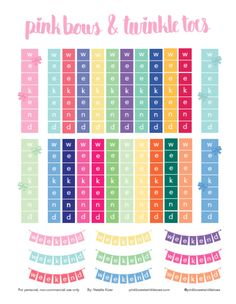 FREE planner sticker printable - rainbow horizontal weekend banners - horizontal planner printable