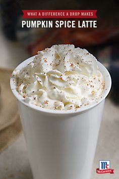Add a dash of pumpkinto your holiday season with this homemade Pumpkin Spice Latte recipe. Milk is blended with coffeeto form a creamy latte base. Stir in McCormickPurePumpkin Pie Spice Blend Extract to recreate the classic flavor of this winter coffeehouse favorite. PSL FTW!