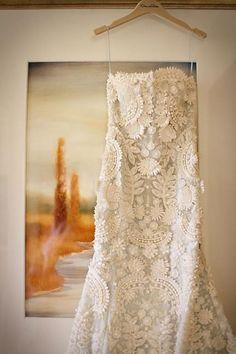 Chic Special Design Wedding Dress ♥ Handmade Wedding Dress