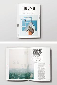Travel Magazine, Print, Layout, Editorial by Katie McDougall, Shillington Graduate. View more student work --> https://www.shillingtoneducation.com #MadeAtShillington