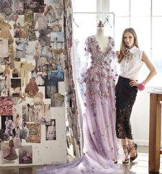 Hair by Eloise Cheung Georgina Chapman of Marchesa Haute Living