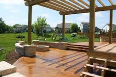 CONCRETE PATIO BENEFITS The top reasons to install a concrete patio Until wood decks became so trendy a decade or so ago, most patios were made of hard materials like concrete, brick or stone. Today, many homeowners who installed those wood decks need to replace them because of rotting or warped wood, or because they are simply fed up with the hassle of staining and sealing them every few years. Patios made of concrete or concrete pavers are making a big comeback as homeowners now realize…