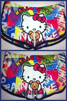 Pantalón corto Hello Kitty osito!