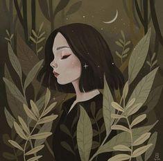 what a beautiful illustration// Art And Illustration, Illustration Inspiration, Art Inspo, Inspiration Art, Art Anime Fille, Anime Art Girl, Art Du Croquis, Art Mignon, Poster S
