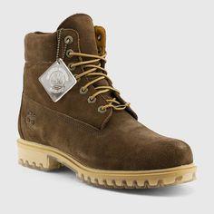 7de05237c825 Timberland - Men s 6-Inch Premium Boots (Dark Green Suede)