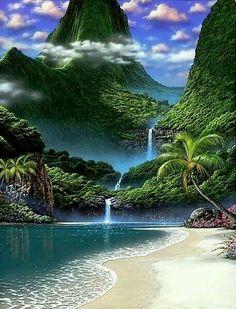 Che bello sarebbe avere una casettina proprio in riva al mare .