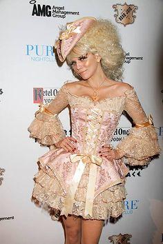 Annalynne McCord's Marie Antoinette costume
