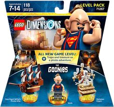 #LEGO Dimensions The #Goonies Level Pack (71267) - http://www.thebrickfan.com/lego-dimensions-wave-8-expansion-packs-now-available-for-pre-order/