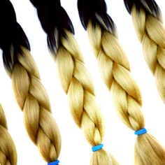 New! Ombré 100% Kanekalon Jumbo Braiding Hair. Kanekalon is the most popular fiber used in braids, twists, and synthetic dreads. You will always fe...