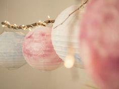 Tutoriel DIY: Fabriquer des lampions colorés via DaWanda.com