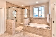 Small Shower Remodel Wet Rooms and Corner Shower Remodel Diy. Rustic Bathroom Designs, Bathroom Design Luxury, Dream Bathrooms, Beautiful Bathrooms, Small Shower Remodel, Master Bedroom Bathroom, Bathroom Layout, Master Bath Layout, Master Bath Remodel