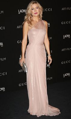 Kate Hudson's pretty pink look at the LACMA Gala topped our best dressed list.