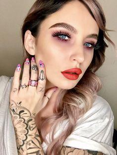 Twitter Christmas Makeup, Makeup Ideas, Septum Ring, Twitter, Rings, Jewelry, Fashion, Jewellery Making, Moda