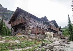 The simple life at Glacier's Sperry Chalet