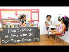 American Girl Ice Cream Shop • American Girl Ideas | American Girl Ideas