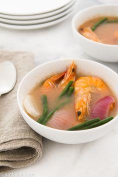 How to Make Sinigang na Hipon sa Sampalok (Shrimp Tamarind Soup)