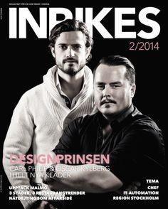 INRIKES nr 2 2014 With Prince Carl Philip and Oscar Kylberg