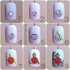 Manicure Diy At Home Step By Step Tutorials 47 Ideas Hard Nails, Thin Nails, Colorful Nail Designs, Gel Nail Designs, Nail Art Hacks, Easy Nail Art, Diy Nails Cute, Do It Yourself Nails, Broken Nails