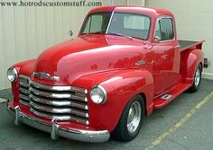 1951 Chevy Pickup - Have wanted this for as long as I can remember...just make it candy apple red :)
