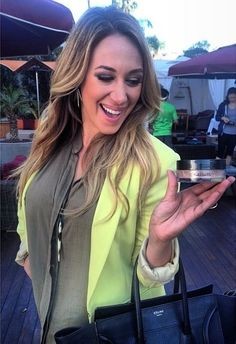 Haylie Duff in Hearts.com Fallen Quill Necklace