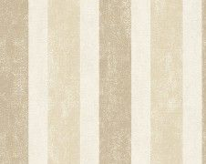 off on Schöner Wohnen non-woven wallpaper beige brown Tapete Beige, Pattern Wallpaper, Curtains, Design, Diy, Candle, Striped Wallpaper, Stripes, Nice Asses