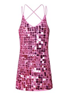 Open Back Sequin Mini Dress_Club Dress_Clubwear Clothing_Sexy Lingeire | Cheap Plus Size Lingerie At Wholesale Price | Feelovely.com