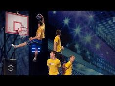 Enjoy acrobatics and basketball skills courtesy of Hungarian  basketball players Face Team.    Watch as the finely-honed Hungarians shoot, score and shake their booties in time to some banging tunes. What will Judges David Walliams, Alesha Dixon, Simon Cowell and Amanda Holden make of it?    See more from Britain's Got Talent here:    http://itv...