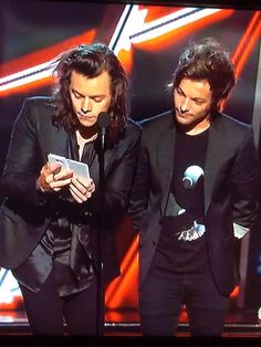 Harry and louis at the BBMAs